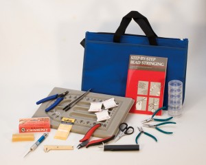 Professional Pearl and Bead Stringing Kit w/ DVD