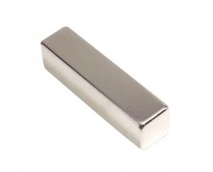"2"" x 1/2"" x 1/8"" Rare Earth Neodymium Recovery Magnet"
