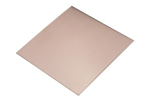 "6"" x 6"" Copper Sheet - 28 Gauge"