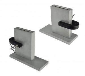 500 DWT Split Adjustable Steel Mold w/ Clamp