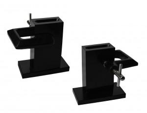 "12 oz - 240 DWT Split Adjustable Steel Mold w/ ""C"" Clamp"