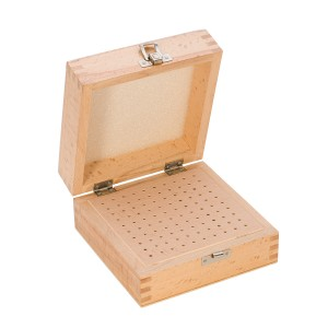 Wooden Box w/ 100 Holes