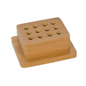 Premium Wood Punch Stand w/ 12 Holes