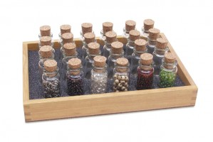 Seed Bead Tray w/ 20 Bottles