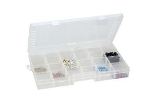 Scoop Compartment Plastic Organizer