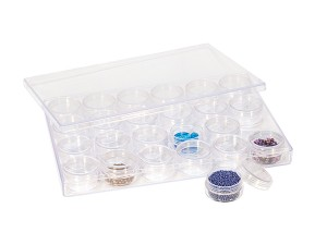 24-in-1 Plastic Storage Containers