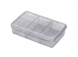 6 Compartment Organization Box w/ Lid
