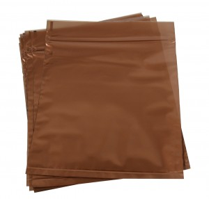 "Pack of 10 - 6"" x 6"" Anti-Tarnish Locking Bags"
