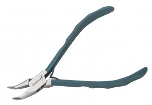 """5-3/4"""" Wubbers ProLine Series - Bent Chain Nose Pliers"""