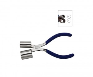 """6"""" Miland Bracelet Pliers w/ 5/8"""" and 3/4"""" Double Cylinders"""