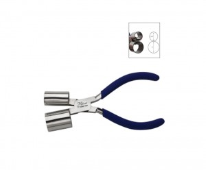 """6"""" Miland Bracelet Pliers w/ 3/4"""" and 1"""" Double Cylinders"""