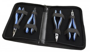 4 Piece Lindstrom RX Plier Kit w/ RX7490, RX7590, RX7893, and RX8141 Pliers