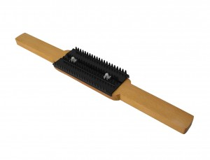 Buff Rake Tool w/ Wooden Handle for Cleaning Jewelry Polishing Buffs