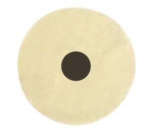 """White Unstitched Muslin Buff - 6"""" x 50 Folds"""