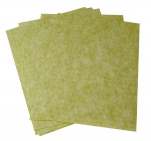 10/Pk 3M Green Wet or Dry Tri-M-Ite™ Polishing Papers - 30 Micron 400 Grit