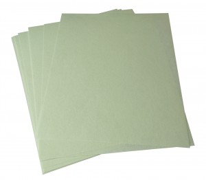 10/Pk 3M Light Green Wet or Dry Tri-M-Ite™ Polishing Papers - 1 Micron 8000 Grit