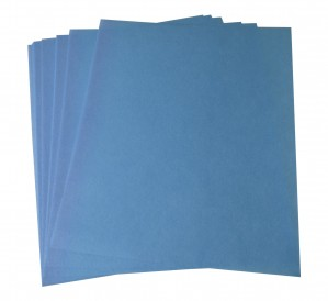 10/Pk 3M Blue Wet or Dry Tri-M-Ite™ Polishing Papers - 9 Micron 1200 Grit