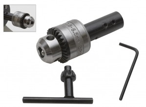 Drill Chuck for the Benchtop Polisher