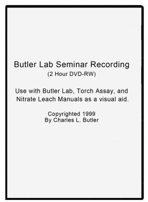 Butler Lab Seminar Recording DVD by Charles Butler
