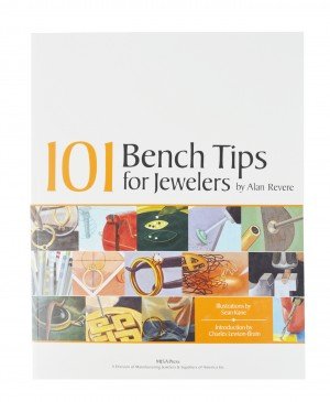101 Bench Tip for Jewelers Book by Alan Revere
