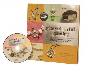 Stamped Metal Jewelry by Lisa Niven Kelly Book and DVD Set