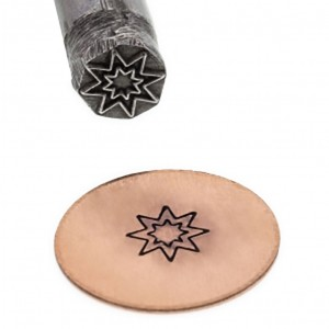Double Pointed Star Stamp