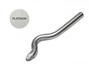 PLATINUM 1 MM Bent Stamp