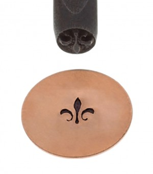 5 mm Solid S-Fleur De Lis Elite Design Stamp