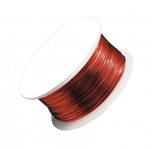 18 Gauge Red Artistic Wire Spool - 10 Yards