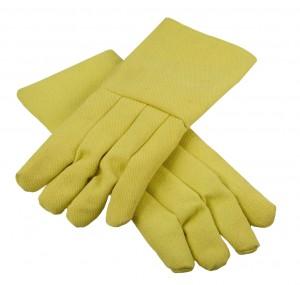 """High Heat Resistant Kevlar®  18"""" / 22 oz Melting Furnace Gloves"""