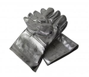 "Aluminized 14"" Carbon Kevlar Gloves"