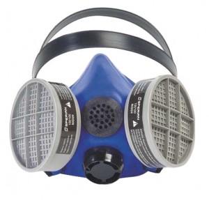 Honeywell Silicone Half Mask 2000 S Series Respirator w/ Speaking Diaphragm Size SMALL