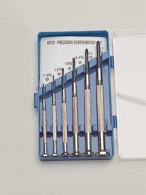 6 Piece Economy Combination Screwdriver Set