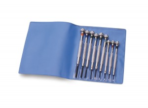 9 Piece Screwdriver Set w/ Straight and Phillips Styles