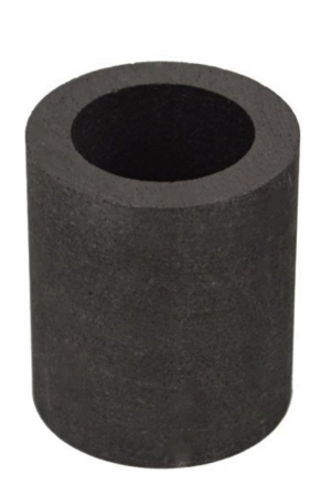 "1-1/2"" x 1-3/4"" Kwik Kiln Replacement Graphite Crucible"