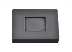 3/4 Troy Ounce Silver Rectangular Graphite Ingot Mold