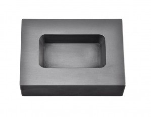 10 Troy Ounce Silver Rectangular Graphite Ingot Mold