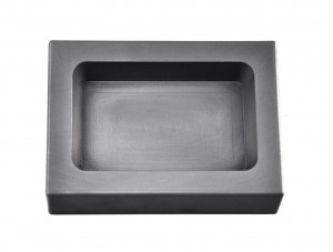 20 Troy Ounce Silver Rectangular Graphite Ingot Mold