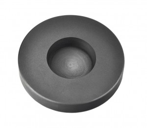 5 Troy Ounce Silver Round Coin Graphite Ingot Mold