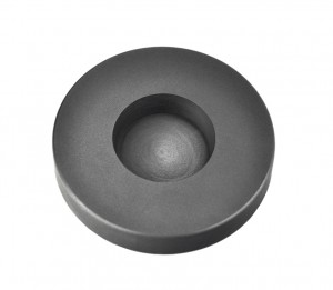 4 Troy Ounce Silver Round Coin Graphite Ingot Mold