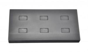 1 Gram Multi Cavity Silver Rectangular Graphite Ingot Mold