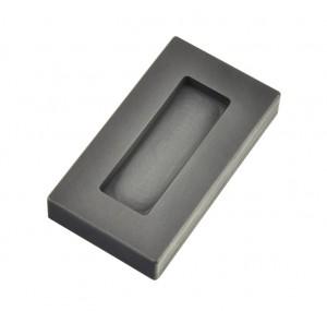 2 oz Troy Ounce Silver Kit Kat Graphite Ingot Mold