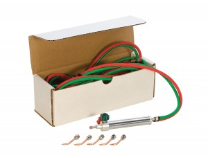 Oxygen/Acetylene Small Torch Kit with Easy Turn Knobs
