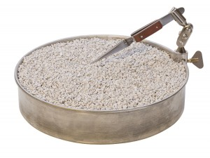 """7"""" Rotating Soldering Pan w/ Clamp and Pumice"""