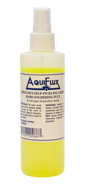 Aquiflux - Half Pint (8 oz) Spray Bottle Self-Pickling Soldering Flux