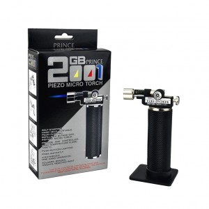 Prince GT GB-2001 Piezo Refillable Butane Micro Torch