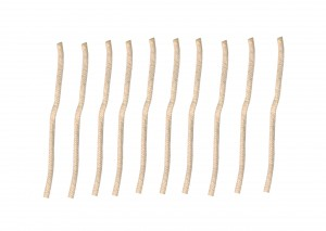 "Pack of 10 3/16"" Replacement Wicks for the Alcohol Glass Burner Lamp"