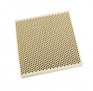 Honeycomb Ceramic Block Square w/ 1,050 Holes (2 mm Diameter)