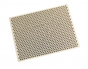 Honeycomb Ceramic Block Square w/ 850 Holes (2 mm Diameter)