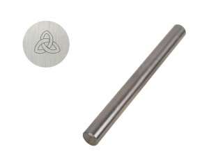 "1/4"" Steel Triquetra Celtic Knot Stamp"